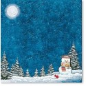 Papier 30,5cm x 30,5cm bonhomme de neige