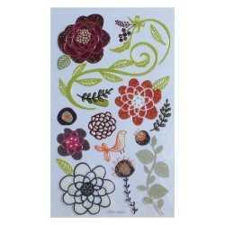 Stickers 3D gel fleur 2 DOVECRAFT