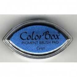 Coussin encreur COLORBOX cyan