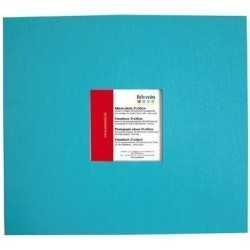 Album de scrapbooking 30cm x 30cm bleu turquoise ARTEMIO