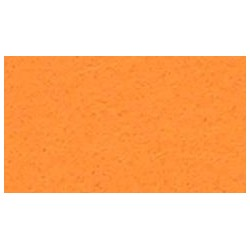 Feuille de feutrine 20 x 30cm souple 1mm orange