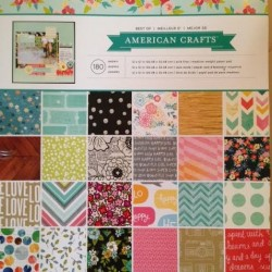 Bloc de 180 feuilles best of American crafts