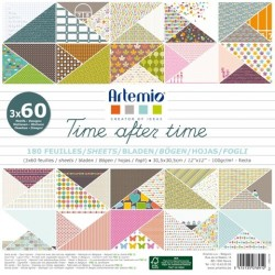 Bloc de 180 feuilles Time after time ARTEMIO