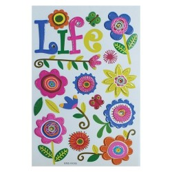 Stickers 3D simply creative life DOVECRAFT