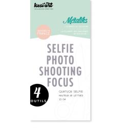 Dies de découpe Métaliks quatuor selfie Kesi'art