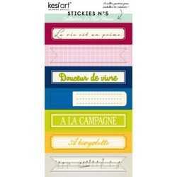 Stickers le clos fleuri n°5 KESi'ART