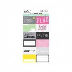 Stickers kiss my neon n°3 KESI'ART