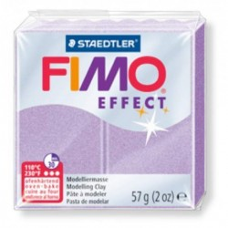 Fimo EFFECT lilas perle 57g n°607