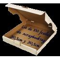 Boîte à pizza - 100 feuilles de scrapbooking 30,5cm x 30,5cm
