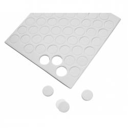 264 pastilles autocollantes rondes de mousse 3D 6mm