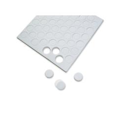 104 pastilles autocollantes rondes de mousse 3D 13mm