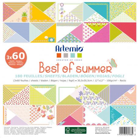 Bloc de 180 feuilles ARTEMIO Best of summer
