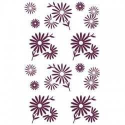 Tampon stampo fleurs ALADINE