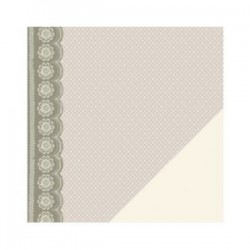 Papier recto verso lace wedding
