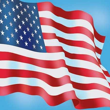 Papier 30,5cm x 30,5cm drapeau américain