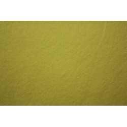 Feuille de feutrine 20cm x 30cm souple jaune claire