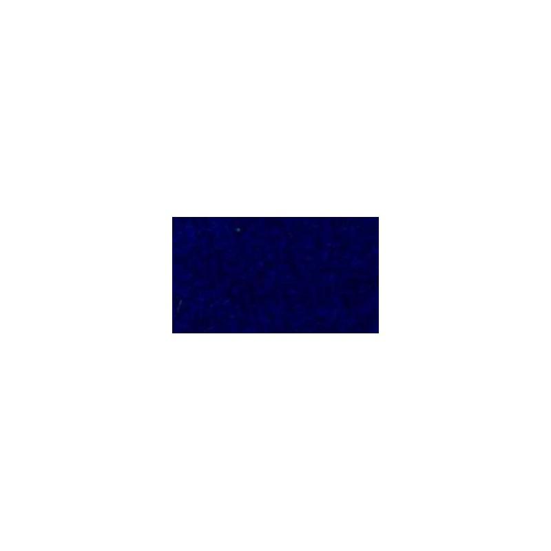 Feuille de feutrine 20 x 30cm souple 1mm bleu marine