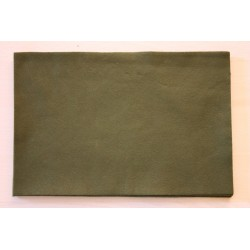 Feuille de feutrine 20 x 30cm souple 1mm vert
