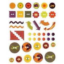 42 stickers epoxy TRAVEL ARTEMIO