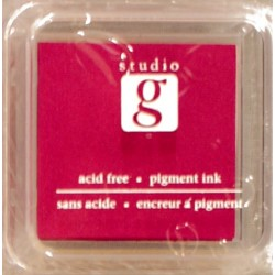 Encreur mini pad de studio G embossable