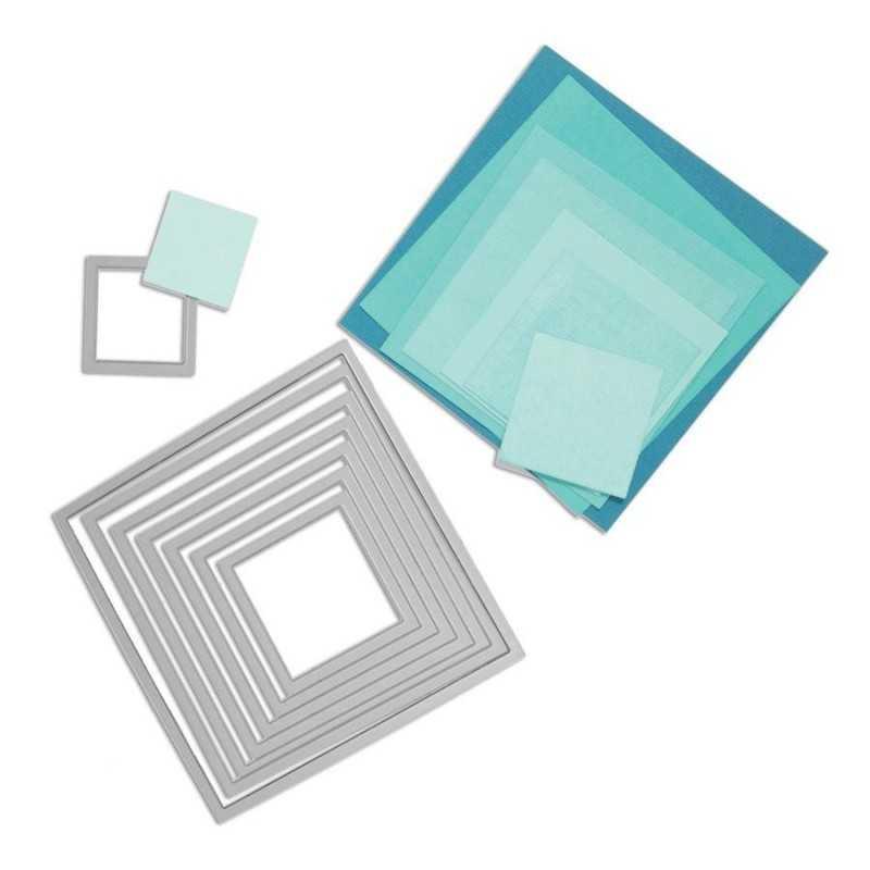 Sizzix framelits carrés