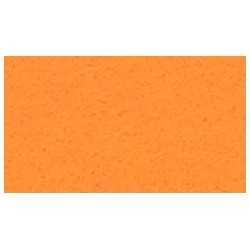 Feuille de feutrine 20 x 30cm souple 1mm orange