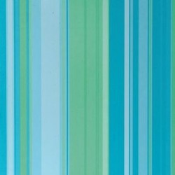 Papier 30,5cm x 30,5cm rayures bleus et vertes
