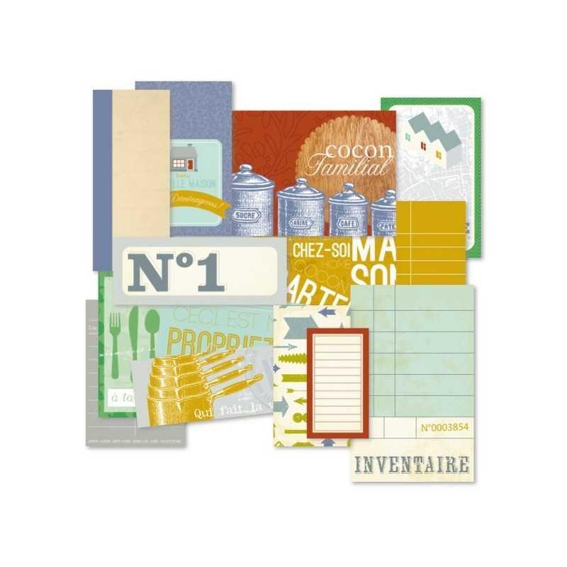 Etiquettes cartonnées recherche maison KESI'ART