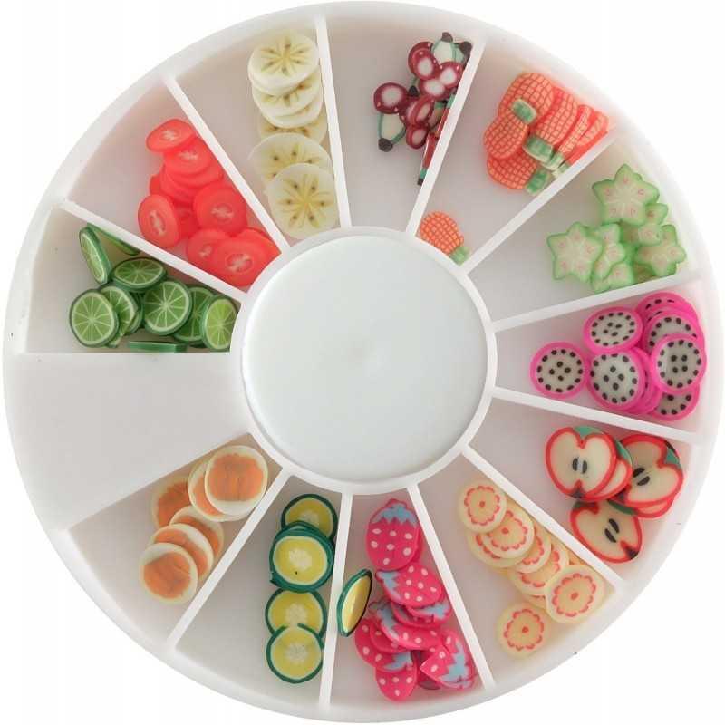 Tranches de mini canes fruits exotiques DTM
