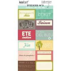 Stickers flic flac floc n°3 KESI'ART