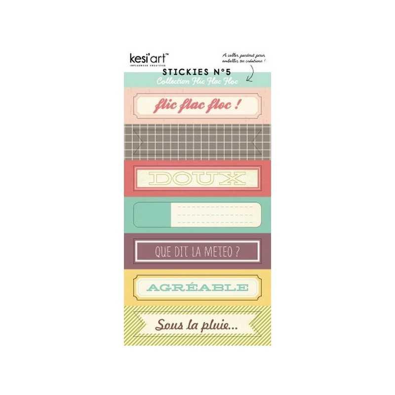 Stickers flic flac floc n°5 KESI'ART
