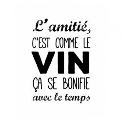 """Tampons transparents """"Le vin"""" ARTEMIO"""