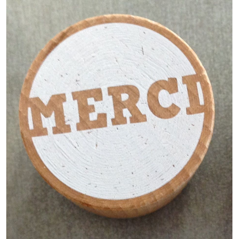 Woodies stamp merci