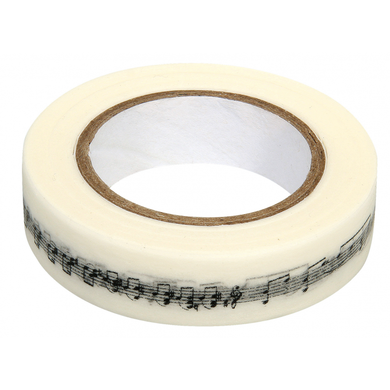 Masking tape notes de musique RAYHER 15mm x 15m