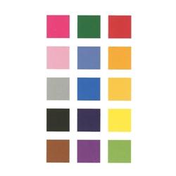Pochette de 60 feuilles texturées couleurs primaire