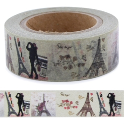 Masking tape PARIS La Fourmi 15mm x 10m