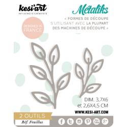 Dies de découpe Métaliks feuillus Kesi'art