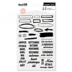 Tampons transparent to do Kesi'art