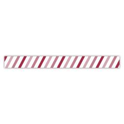 Washi tape barres en biais RAYHER 15mm x 15m
