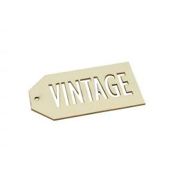 3 étiquettes bois Vintage ARTEMIO