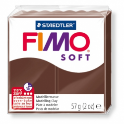 Pâte FIMO SOFT Marron