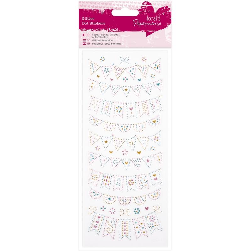 """Planche de stickers pailletés à colorier """"à la mer"""" DOCRAFT"""