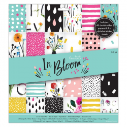 Bloc de 50 feuilles In bloom PAPERMANIA