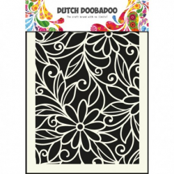 Mask art fleurs Dutch Doobadoo