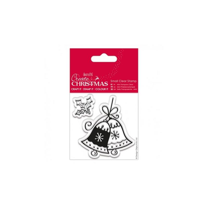 "Tampon transparent ""Christmas bell"""