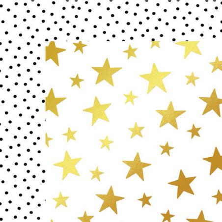 Papier recto verso 30,5cm x 30,5cm Starry Night - My mind's eye