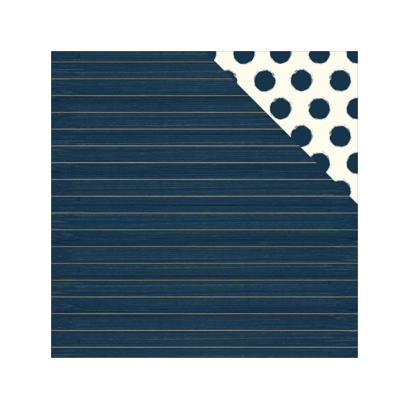 Papier recto verso 30,5cm x 30,5cm Stripe - My mind's eye