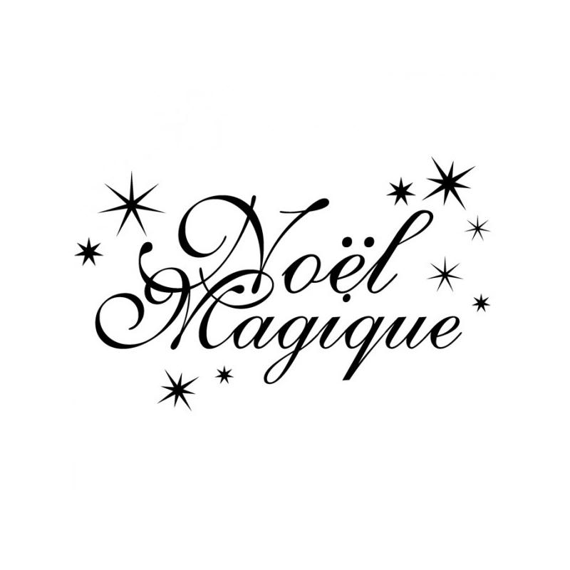 """Tampon bois """"Noël Magique"""" ARTEMIO"""
