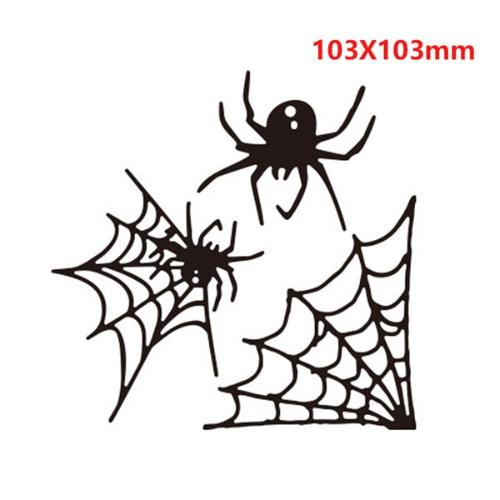 Dies Halloween Toile D Araignée