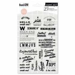 Tampons transparents 7 jours Kesi'art